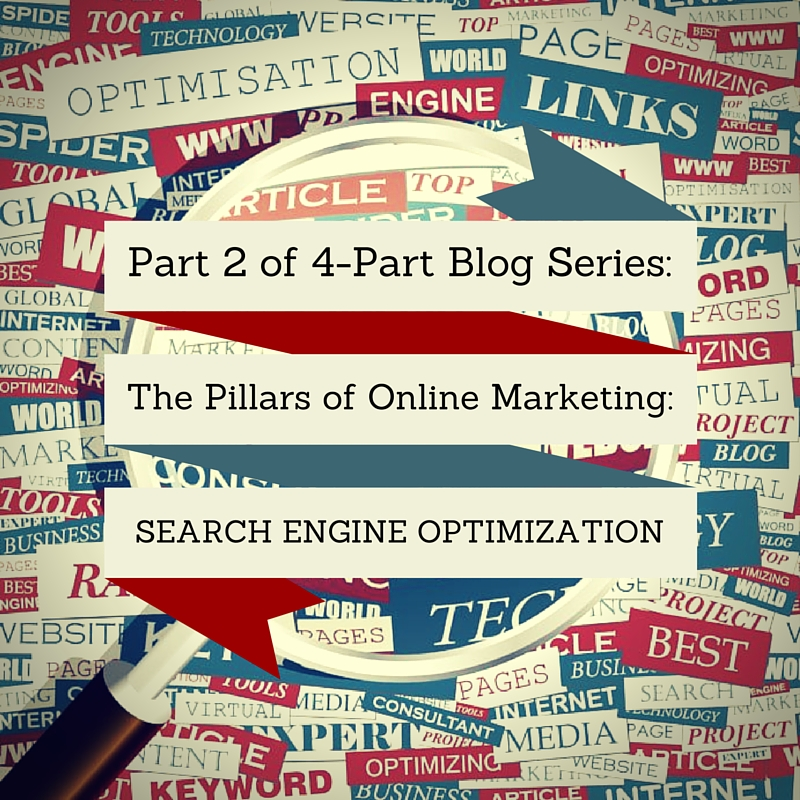 The Pillars of Online Marketing (Part 2 of 4):  Search Engine Optimisation (SEO)
